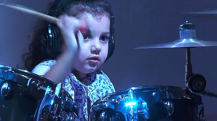 5 Year Old Girl Jams Van Halen S Jump But What She Does At The End Will Make You Smile Society Of Rock