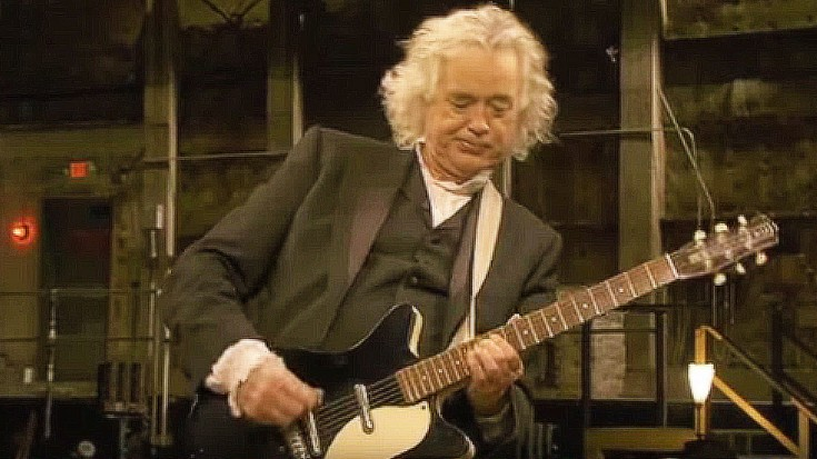 jimmy page unlocks the secret to kashmir i can t believe how easy it looks society of rock. Black Bedroom Furniture Sets. Home Design Ideas