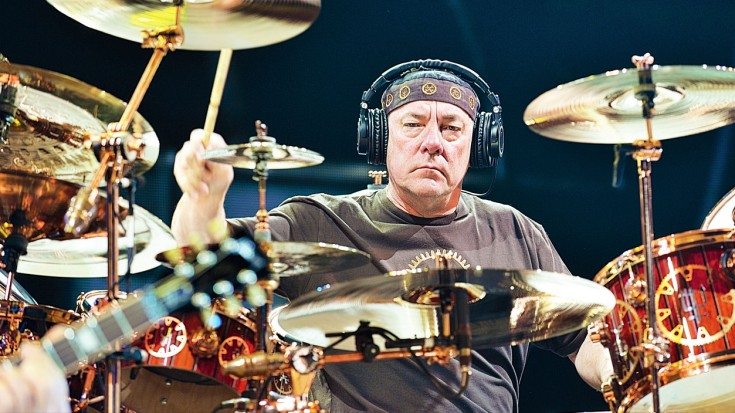 """RUSH: Neil Peart's """"Tom Sawyer"""" Drum Track Is The Coolest Thing You'll Hear All Day   Society Of Rock Videos"""