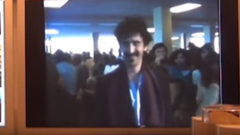 Frank Zappa Noticed A US Navy Marching Band At The Airport – Then THIS Happened   Society Of Rock Videos
