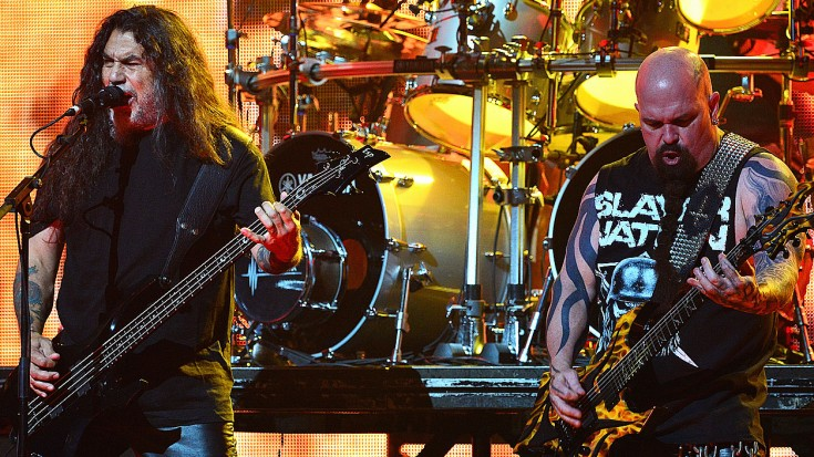 "Slayer Pays Tribute To Skynyrd With Epic ""Free Bird"" Soundcheck Jam 