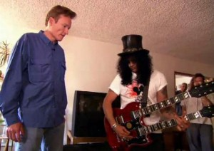 Conan O'Brien Asks Slash To Help Him Buy A New Guitar After Searching On Craigslist