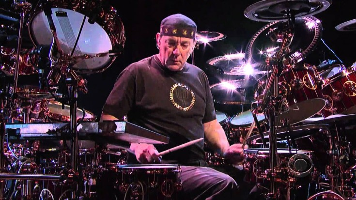 RUSH: Neil Peart Crashes Late Night TV, Wows With Epic 6 Minute Drum Solo | Society Of Rock Videos