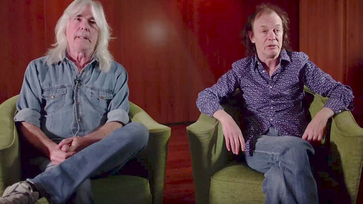 AC/DC's Angus Young + Cliff Williams Reveal Their Favorite Part Of Touring With Axl Rose | Society Of Rock Videos