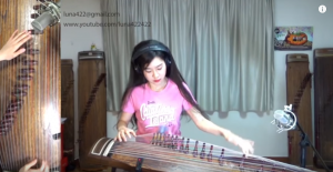 "She Plays Deep Purple ""Smoke On The Water"" On Bizarre Instrument – I'm Blown Away"