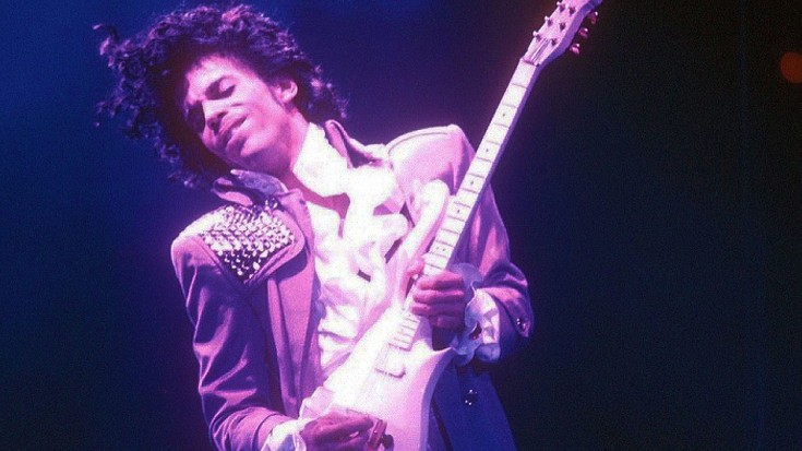 Another Prince Guitar Has Popped Up On Ebay- You Won't Believe The Starting Bid! | Society Of Rock Videos