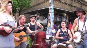 """Hillbillies Hit The Streets Playing """"Paradise City"""" – People Immediately Stop And Watch"""