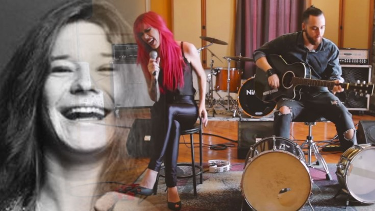 """Me And Bobby Mcgee""- She Channels Her Inner Janis Joplin, And It's Beautiful 