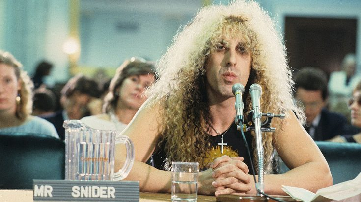 33 Years Ago: Dee Snider Single-Handedly Humiliated Congress For The Whole World To See | Society Of Rock Videos