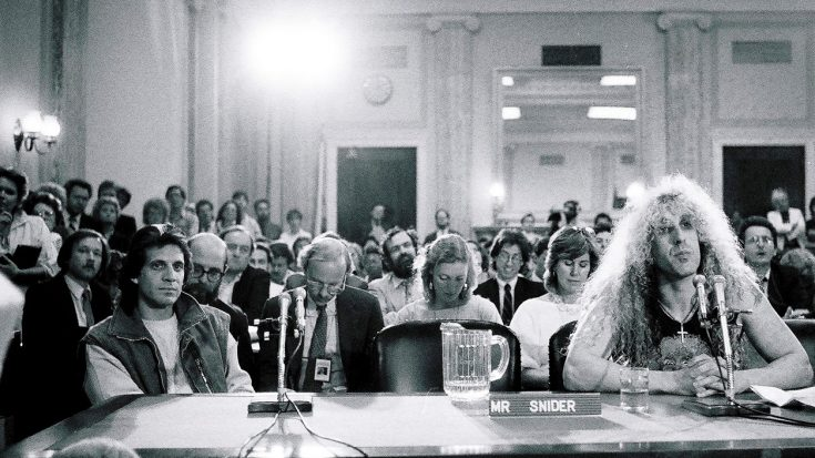 In 1985, Dee Snider Testified In Front Of Congress And Stunned Everyone In The Building | Society Of Rock Videos