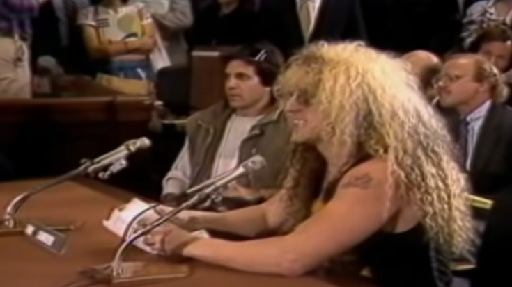 Flashback: The Time Congress Tried To Shut Down Dee Snider But He Had Other Plans | Society Of Rock Videos