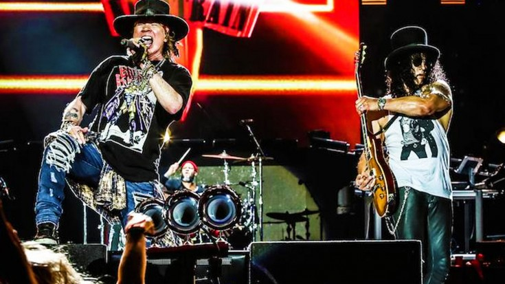 Guns N' Roses Past + Present Come Together For Stunning New Setlist Addition | Society Of Rock Videos