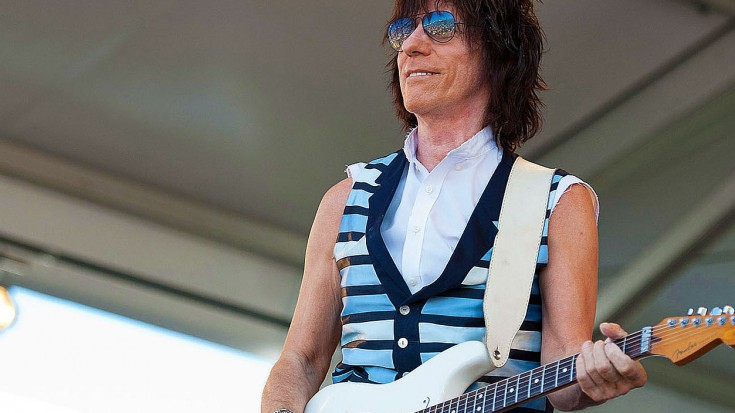 "Jeff Beck Drops New Hendrix-Inspired Song, ""Scared For The Children"" – Hear It Now! 
