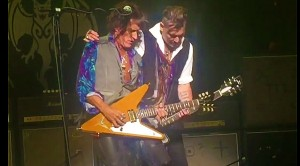 He's Baaaack! After Two Weeks, Joe Perry FINALLY Makes His Triumphant Return To The Stage