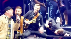Garth Brooks Crashes Justin Timberlake Concert, But Then…
