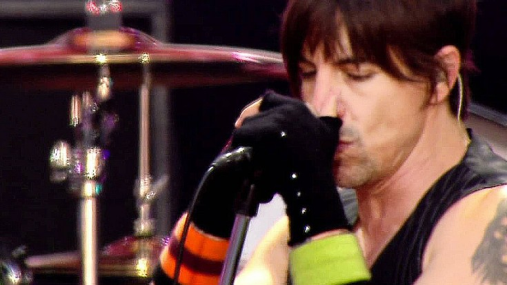 """Red Hot Chili Peppers Crash Live Earth With """"By The Way,"""" And It's 4 Minutes Of Non Stop Fun   Society Of Rock Videos"""
