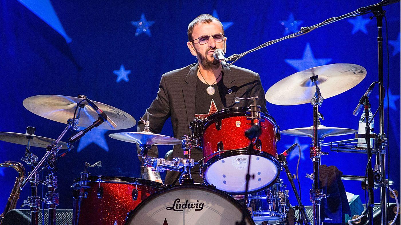 RINGO STARR / THE LITTLE DRUMMER BOY - YouTube |Ringo Starr Drums