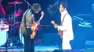 Caught On Camera: Carlos Santana Jams With Prince, And It's Almost Too Awesome To Handle