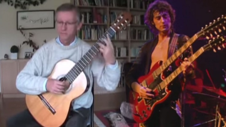 "He Turns ""Stairway To Heaven"" Into a Medieval-Sounding Masterpiece 