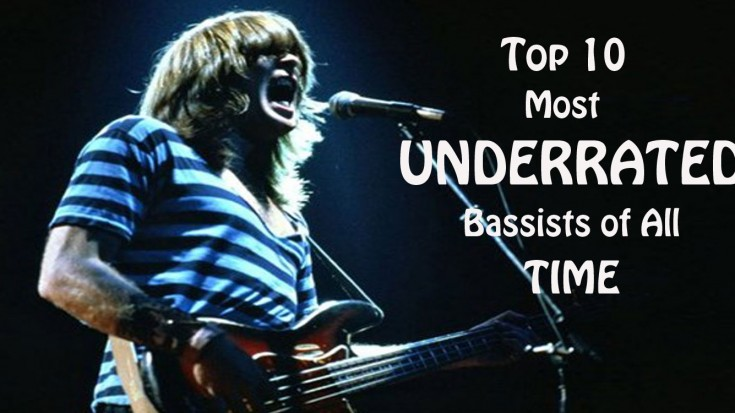Top 10 Most Underrated Bassists Of All Time! | Society Of Rock Videos