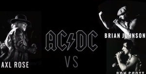 Bon Scott vs Axl Rose vs Brian Johnson