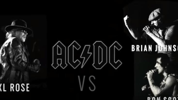 Bon Scott vs Axl Rose vs Brian Johnson | Society Of Rock Videos