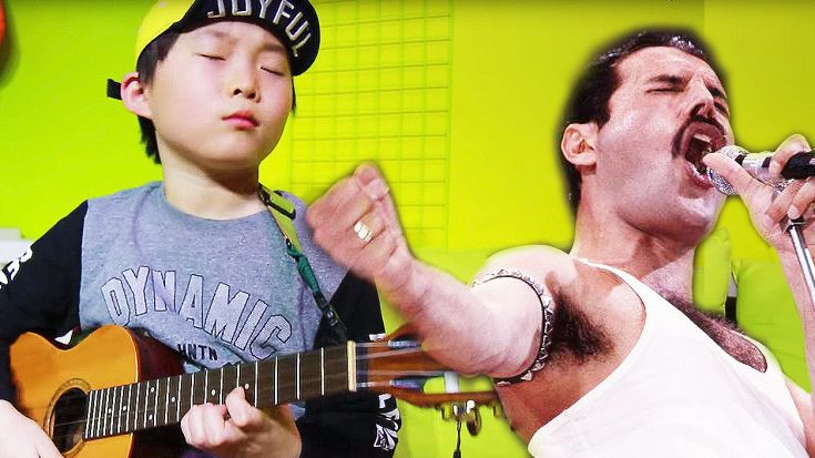 8-Year Old Nails This Cover Of Queen's 'Bohemian Rhapsody' On Ukulele | Society Of Rock Videos