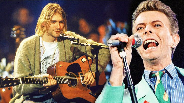 "Nirvana Bust Out Dreamy, Acoustic Cover Of David Bowie's ""The Man Who Sold The World"" 