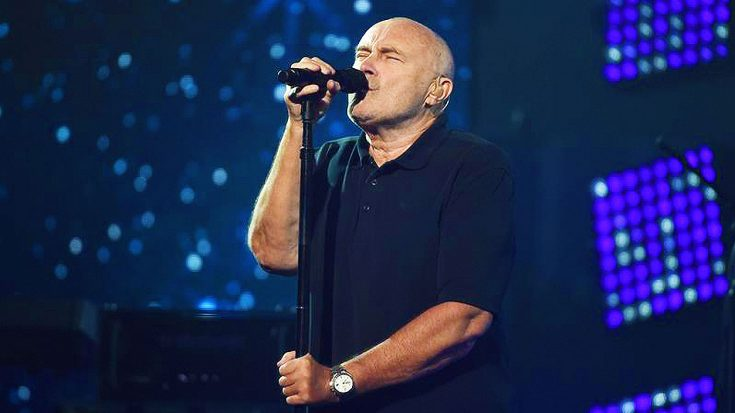 Phil Collins Returns To Performing With Breathtaking