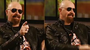 Rob Halford Surprised By A Close Friend During An Interview