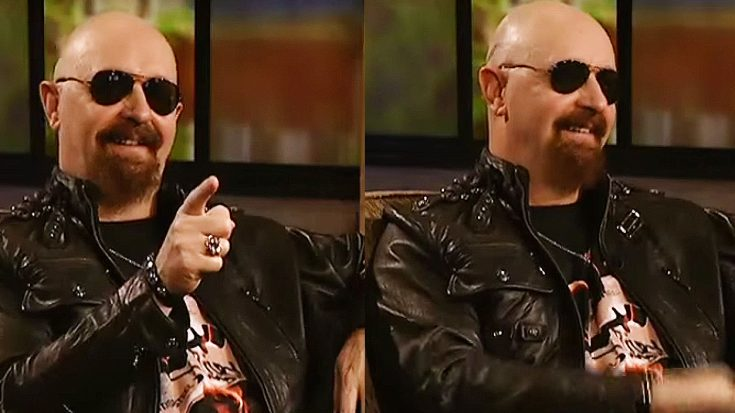 Rob Halford Surprised By A Close Friend During An Interview | Society Of Rock Videos