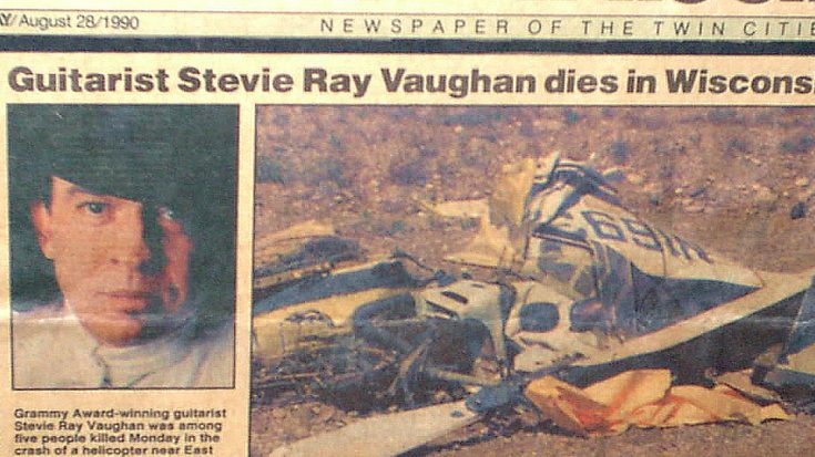stevie ray vaughan eric clapton helicopter with August 27 1990 Stevie Ray Vaughan Dies And The World Is Suddenly A Much Darker Place on Jimmie Vaughan besides Stevie Ray Vaughan Plimmyra Tou Texas as well Saturday Morning Flashback 1990 Playlist 3 besides Stevie Ray Vaughan likewise How To Play Guitar Like Stevie Ray Vaughan.