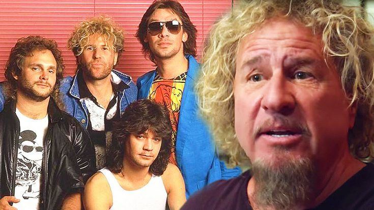 Image result for images of sammy hagar and van halen
