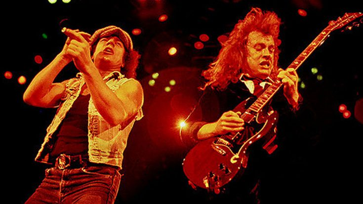 rare footage of 1986 acdc concert has just been
