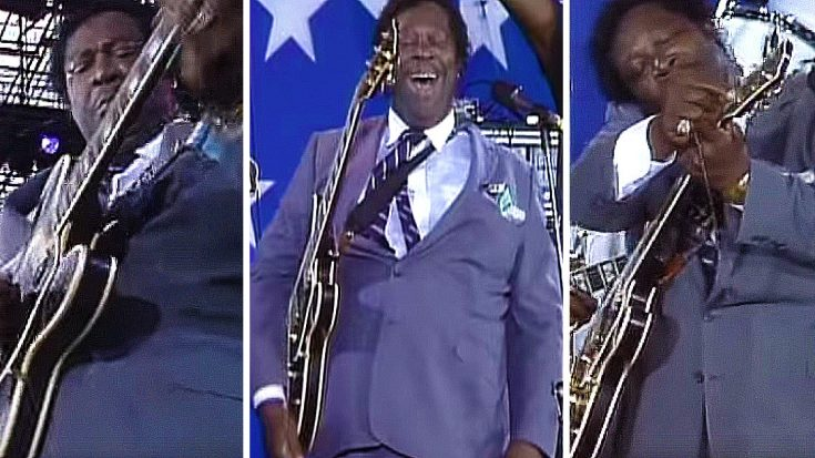 B.B. King Breaks A String Mid Jam, But The Way He Handles It Is LEGENDARY! | Society Of Rock Videos