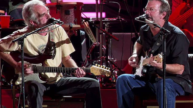 "Eric Clapton And JJ Cale Show How It's Really Done In All-Star Performance Of ""Anyway The Wind Blows"" 