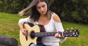 "Talented Teen Transforms ""Here Comes The Sun"" Into Delicate Acoustic Masterpiece"