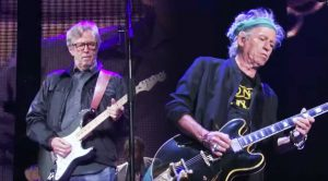 Keith Richards & Eric Clapton Put On A Rock Clinic With This Iconic Performance!