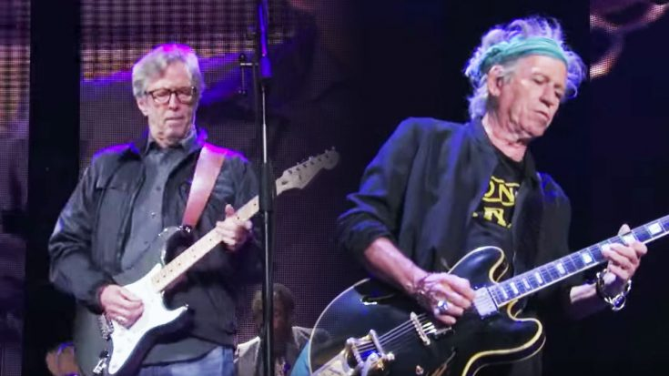 Keith Richards & Eric Clapton Put On A Rock Clinic With This Iconic Performance! | Society Of Rock Videos