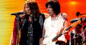 "It's A Party When Jeff Beck And Steven Tyler Link Up For Scorching Cover Of Prince's ""Purple Rain"""