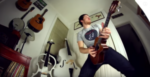 Guy Destroys Metallica Solo On the Ukulele – Absolutely Epic