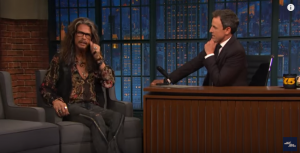 Steven Tyler Brings 2 Unexpected Guests On Late Night Show