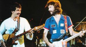 "Eric Clapton And Carlos Santana Team Up For Legendary Cover Of Jimi Hendrix's ""Little Wing"""