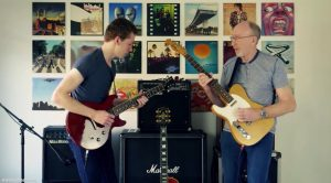 Father And Son Rocks Out Together With Their Cover of The Eagles' 'Hotel California' And It's Incredible!