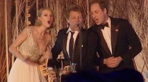 Bon Jovi, Taylor Swift Sing 'Livin On A Prayer'- But You've Gotta Hear Prince William Sing Along