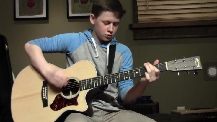 13-Year Old Kid Guitarist Covering Stevie Ray Vaughan Will Make Your Jaw Drop | Society Of Rock Videos