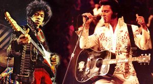 """Jimi Hendrix Hangs Out Backstage And Covers Elvis' """"Hound Dog"""" In This Rare, Exclusive Footage"""