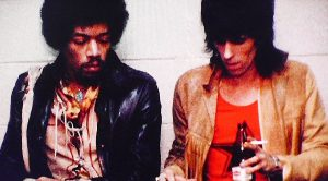 Extremely Rare Footage Of Jimi Hendrix And The Rolling Stones Backstage— Watch What Hendrix Does!
