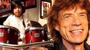 6 Year Old Drummer Hops On A Drum Kit—Slays Incredible Rolling Stones Cover!