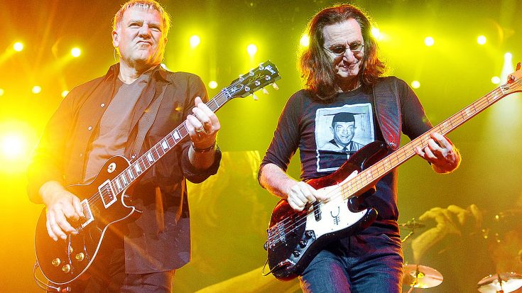 Rush Are Pleasantly Surprised When This Famous Superfan Crashes The Stage During Performance Of YYZ | Society Of Rock Videos